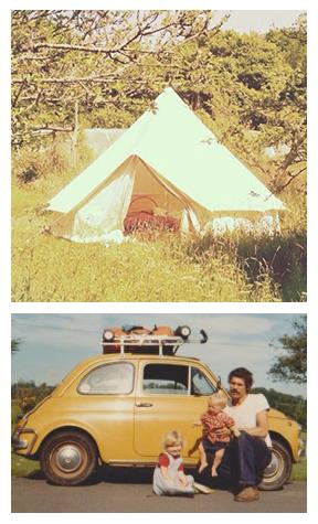 4m diameter Bell Tent Fiat 500