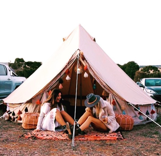 4m diameter bell tent ideal for camping, festivals, backyard camping, glamping, natural canvas tent, lightweight, versatile, zip off groundsheet, kirsty cane, splendour in the grass festival, music tent