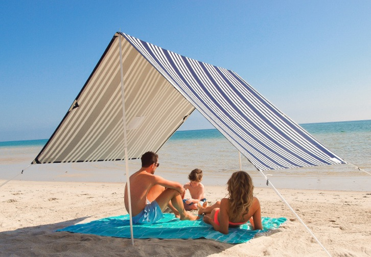 Sun shade, hello sailor, SPF, tent, canvas, beach tent,