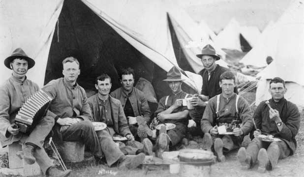 Army Camp Bell Tent World War One Gallipoli Anzacs