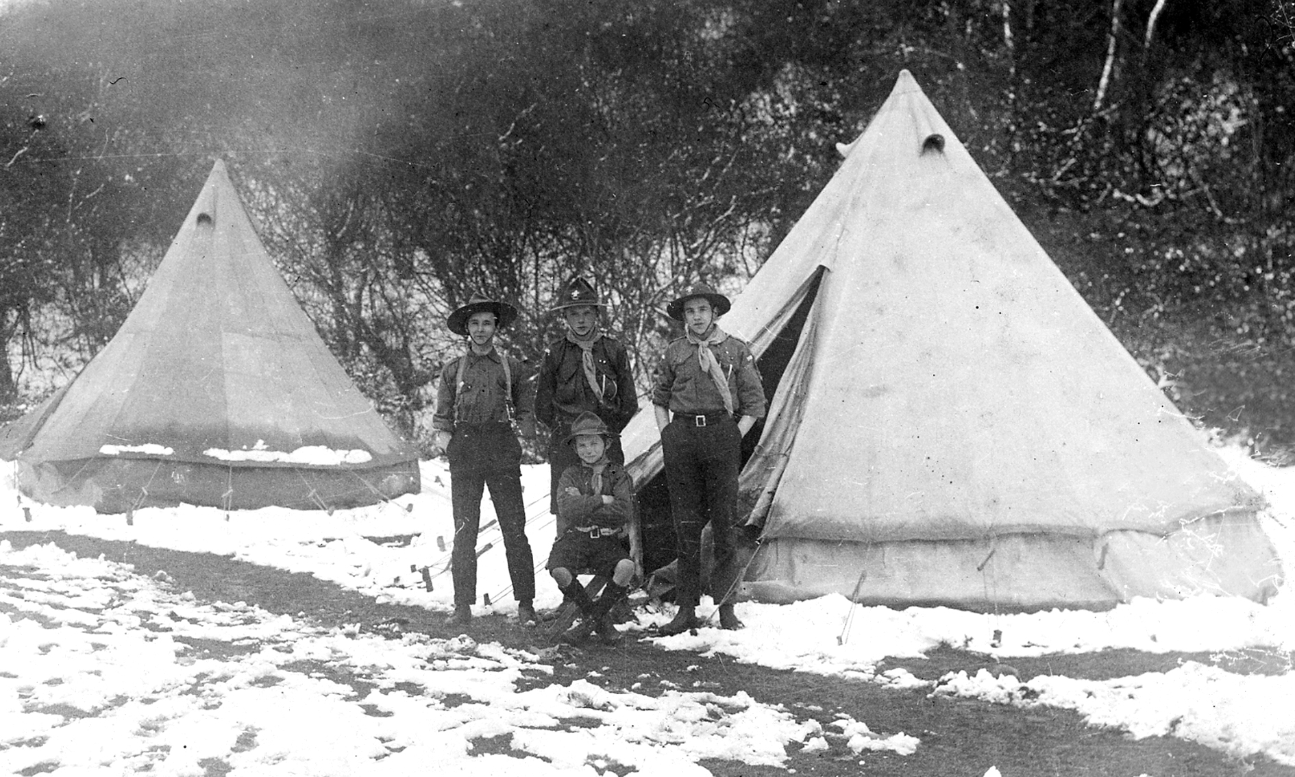 Bell Tent during 1st World War