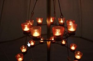 Bell Tent Chandelier & GLAMPING: Convert your partner to camping - Breathe Bell Tents