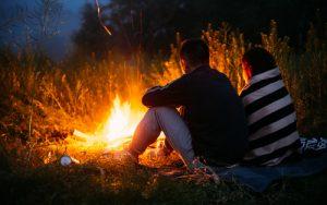 Camp fire Bell tent