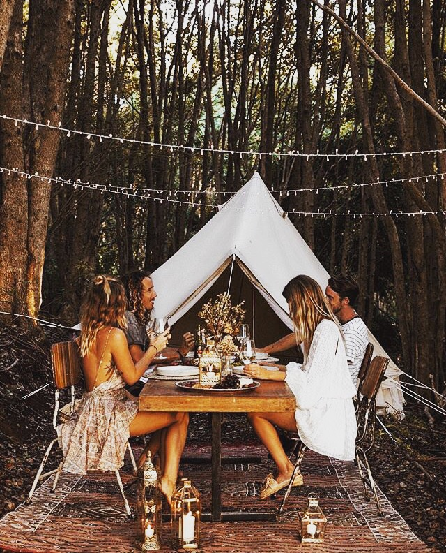 Lisa Danielle 4.5m Bell Tent Pro Tent canvas tent, Glamping, camping, family Tent, Australia, catering events