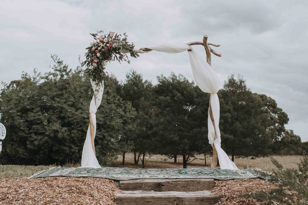 Glamping wedding elopement packages