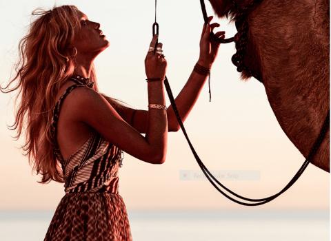Grazia Australia Editorial Shoot Featuring Breathe Bell Tents