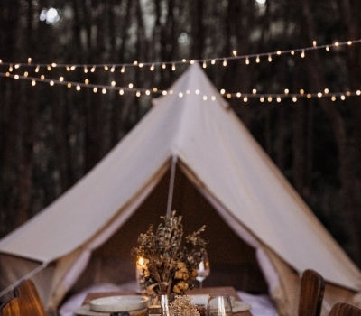 breathe bell tent 4.5m Breathe Bell Tents Australia Glamping Canvas Tents