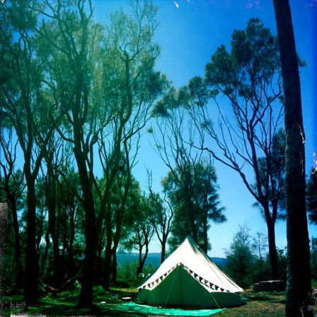 4m diameter Bell Tent Canvas Tent