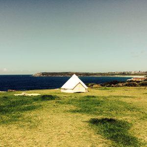 4m diameter bell tent
