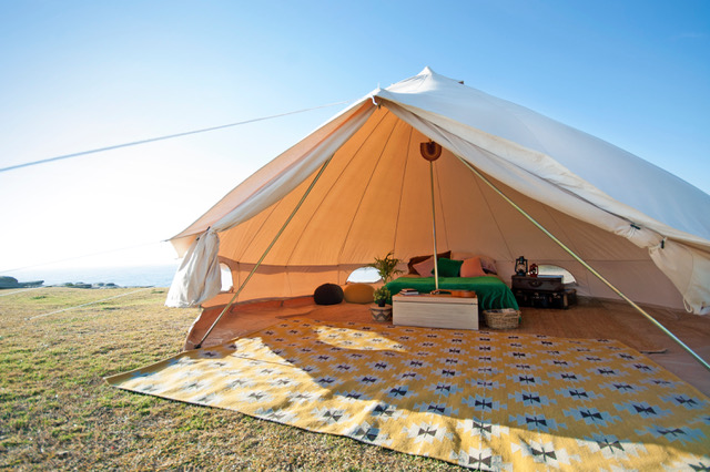 Bell tent-canvas-tent-sibley tent-tent-c&ing-australia- & 5m Ultimate Sibley Bell Tent - Breathe Bell Tents Australia