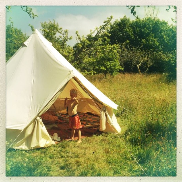 & Camping With Kids - Breathe Bell Tents