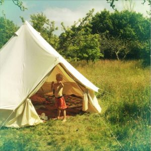 4m diameter Bell Tent West Wales