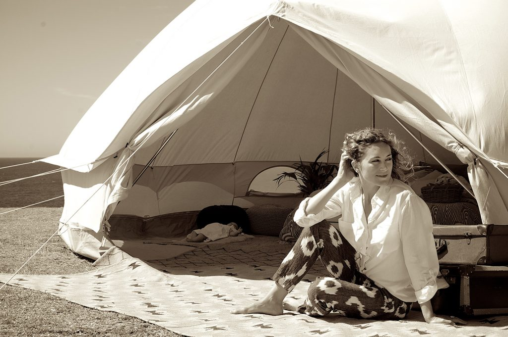 Bell Tent 5m diameter Ultimate Bell Tent lightweight canvas. Family tent. Ideal for glamping and general camping.