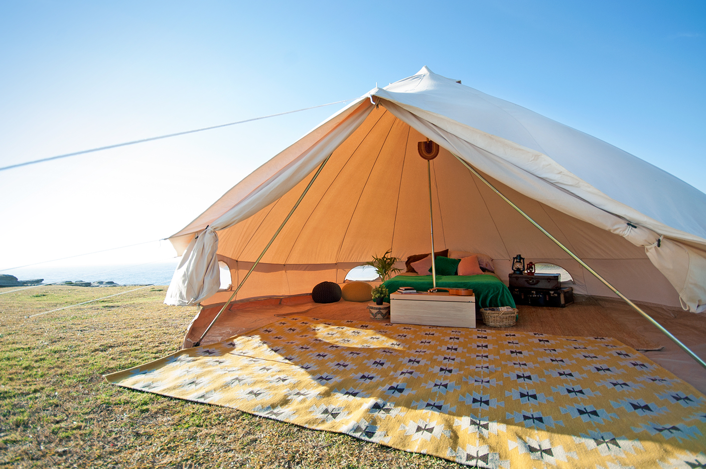 5m diameter Ultimate Bell Tent : cheap tents melbourne - memphite.com