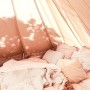 Protech Bell Tent with Mesh Sides Australia Canvas Camping tent interior stylist