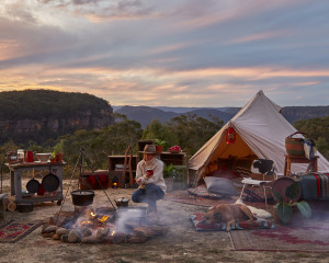 Bell tent 3m diameter Bell Tent Blue Mountains, Sibley tent, canvas tent, glamping, festival tent