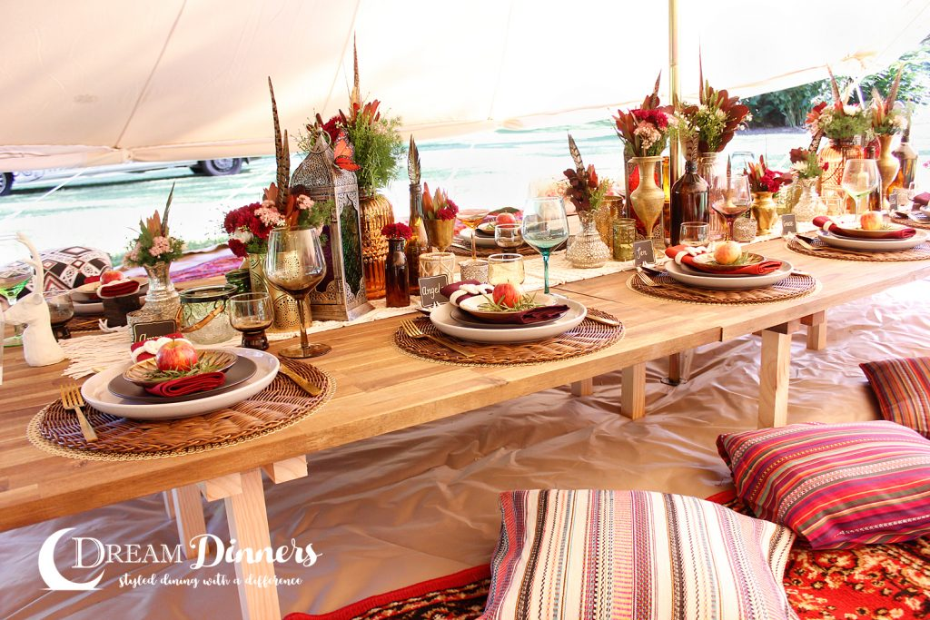 6m diameter Protech Bell Tent Double Door Dinner Styling Charity Ball Event dinner