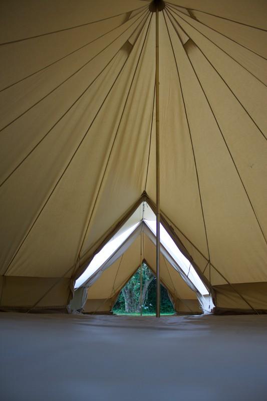 6m diameter Bell Tent Double Door