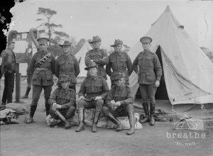 Bell Tent during Wolrd War 1