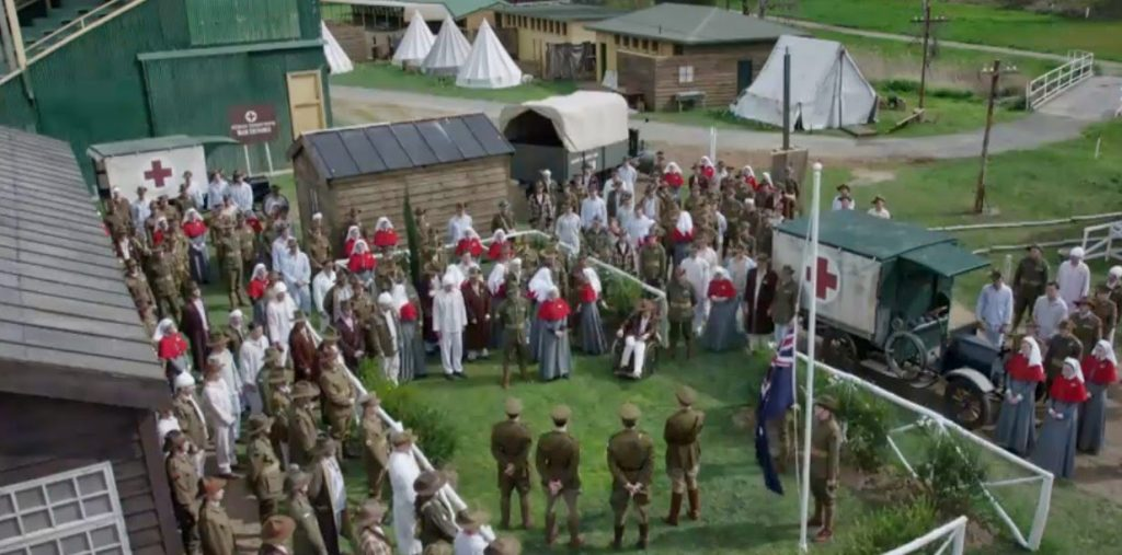 Anzac Girls TV Series Bell Tents in History