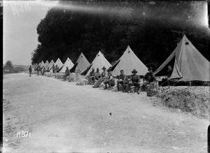 Anzacs World War 1 Gallipoli Bell Tents History