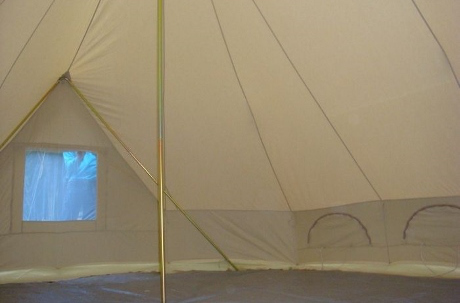 6m Emperor Twin Ultimate Bell Tent & The Emperor 6m Twin Bell Tent the epitome of glamping! - Breathe ...