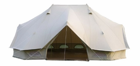 6m Emperor Twin Pro Bell Tent  sc 1 st  Breathe Bell Tents & The Emperor 6m Twin Bell Tent the epitome of Glamping!