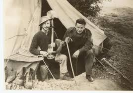Army Camp World War Two Bell Tent