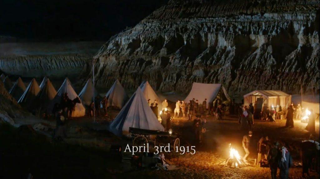 April 3rd 1915 Bell Tent Camp