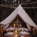 4.5m diameter Bell Tent Breathe Bell Tents Australia Ideal tent for camping and glamping natural canvas tent