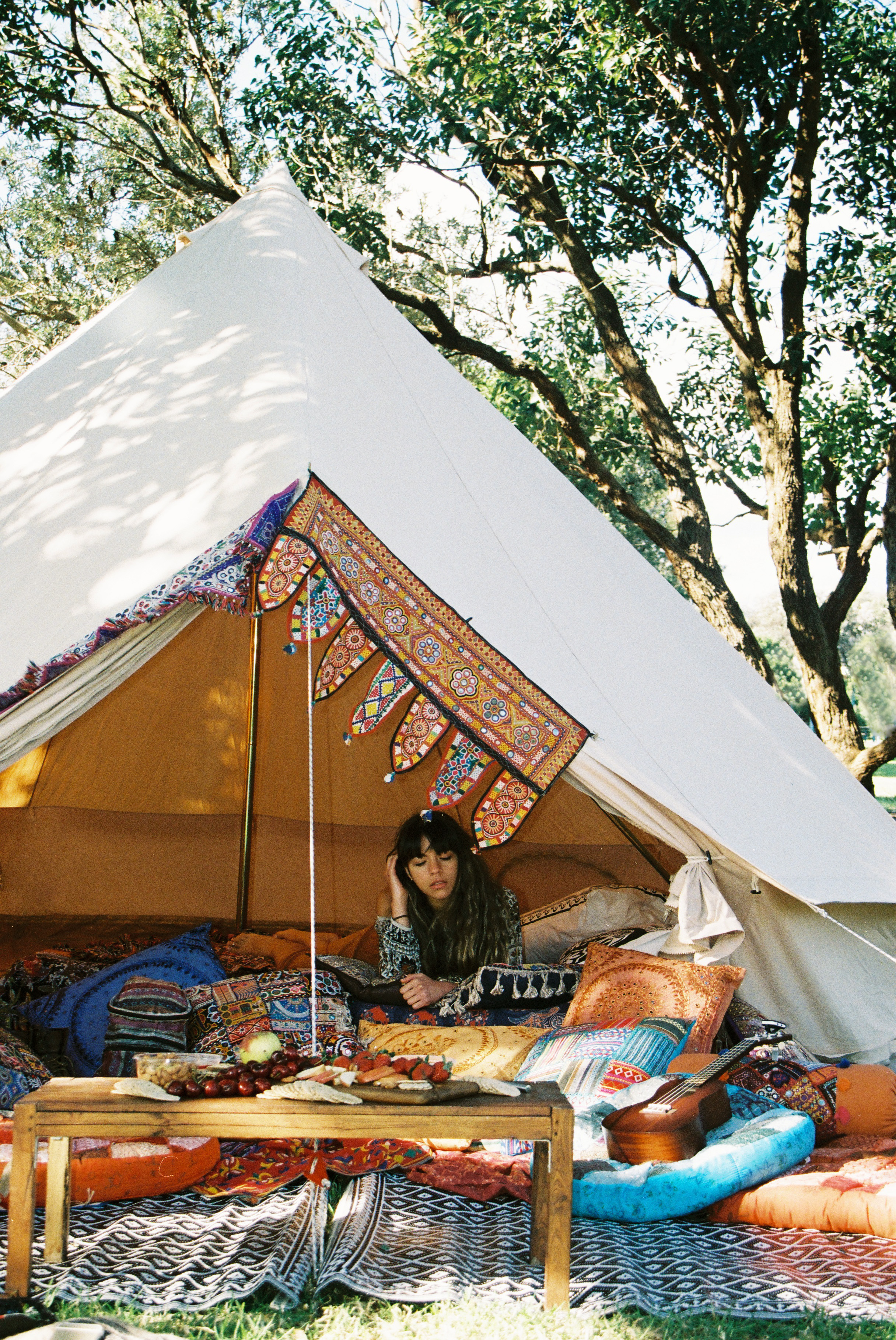 Bell Tent Gl&ing Bohemian Luxe C&ing Styling Festival Party & 5m Ultimate Pro Bell Tent - Breathe Bell Tents Australia