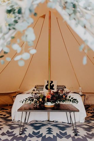 5m diameter bell tent interior, glamping, camping, bell tent, canvas tent, family tent, natural canvas tent, safari tent, australia, bedding, wedding night