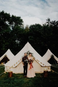 Under The Moon Elopements, wedding, bell tent, camping, glamping, australia, tent, canvas tent,