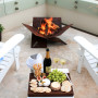 Fire away Pit and when you are not camping, why not set up your fire pit at home?