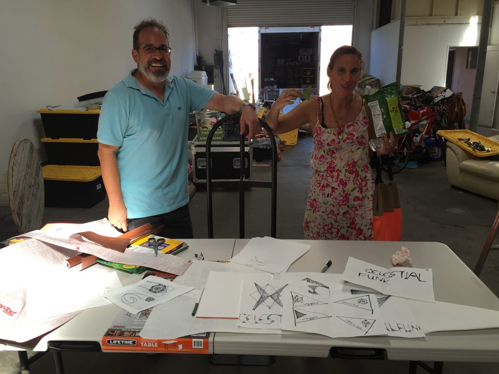 Scenic Artists LA to paint the Bell Tents