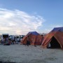 Burning Man 6m diameter Emperor Twin Bell Tent