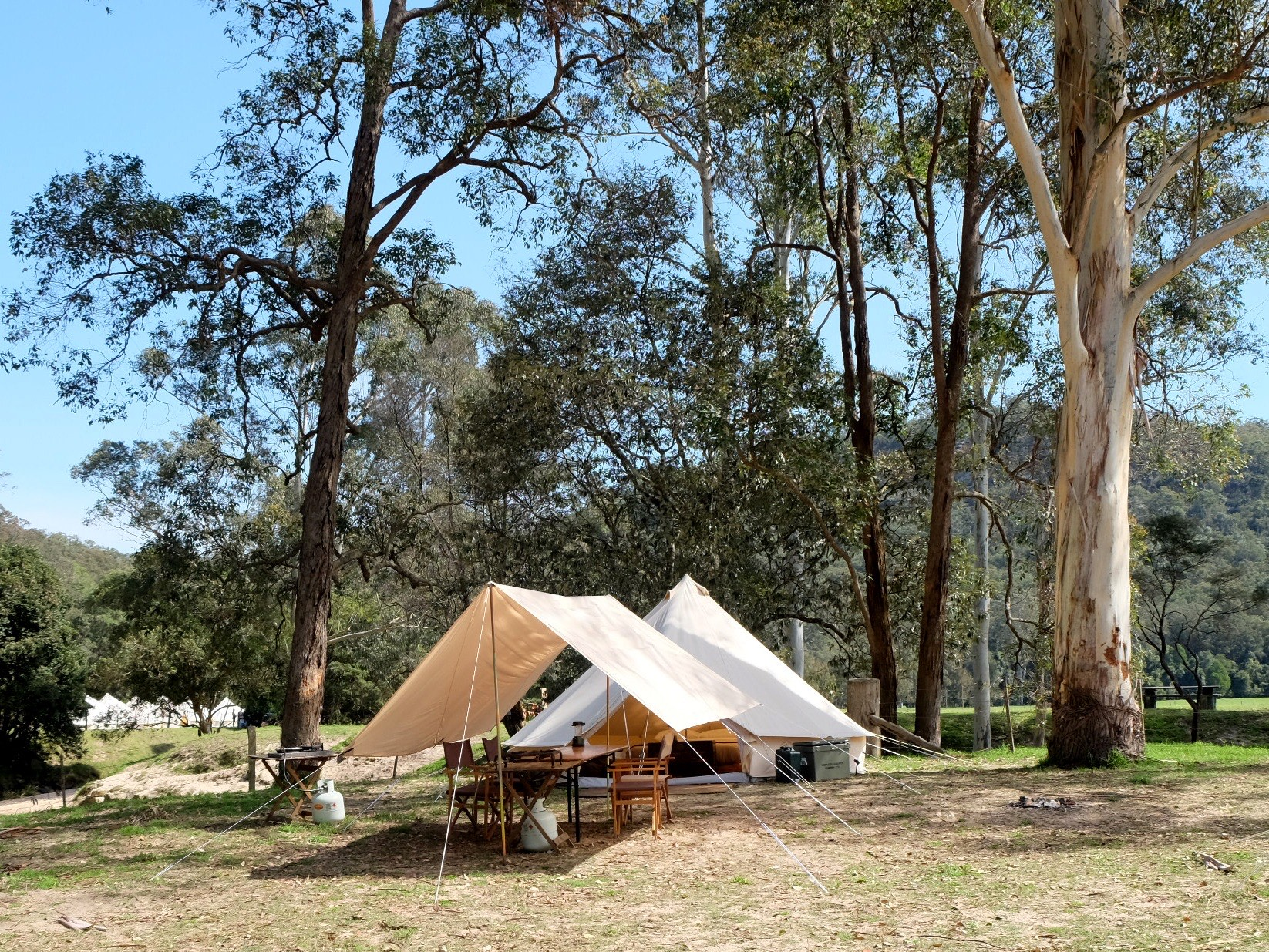 Simple Pleasures Camping Awning Entrance Shelter