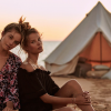 The Girl Campaign, Promoting good self esteem and positive body image amongst girls and women. Workshops with a bell tent donated by Breathe Bell Tents Australia