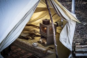 Orland Camp Stove Camp Heater for bell tent camping or glamping imported from Denmark, Breathe Bell Tents Australi