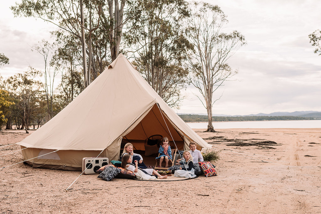 Bell Tent Breathe Bell Tent Australia Outdoor Furnishings Gl&ing Luxury C&ing & 6m Glamping Bell Tent - Breathe Bell Tents Australia