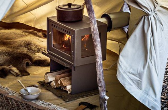 Glamping Stove for Bell Tents Wood burning stove for camping