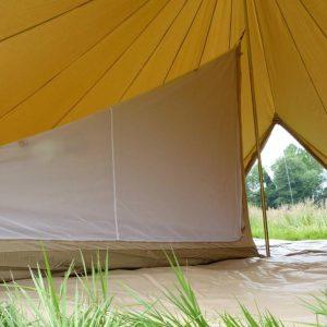 Inner Tent 6m diameter bell tent one quarter
