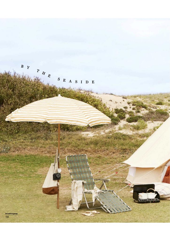 5m diameter bell tent, surf trip, Real Living Magazine, June 2017 Issue, Bell Tent, Glamping, Camping, Surftrip