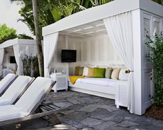 Chill Out Area Cubby House Glamping Garden