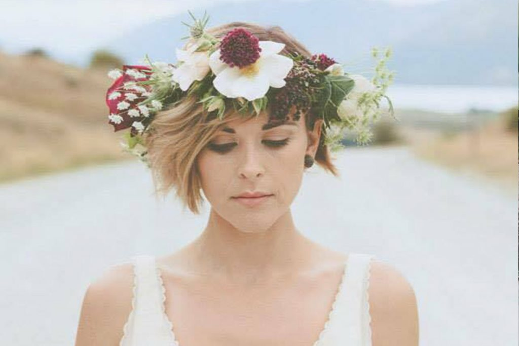 Hair stylist wedding bell tent glamping elopement packages