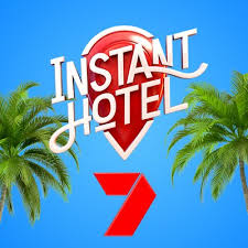 Instant Hotel Channel 7 3m diameter bell tent backyard Bondi Beach