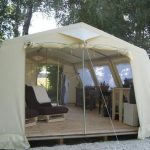 Living Area Bell Tent