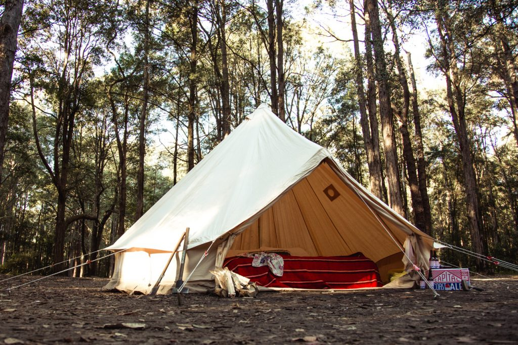 Four Wheel Driving Breathe Bell Tents Australia