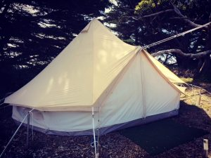 Bell Tent protector, bell tent protection, protect your canvas tent, bell tent, camping, longer term, PVC, Canvas