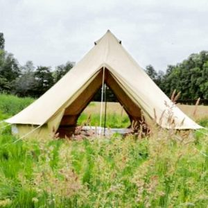 5m diameter Double Door Bell Tent PRO